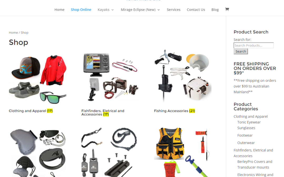 HWS – Kayak Accessories Online