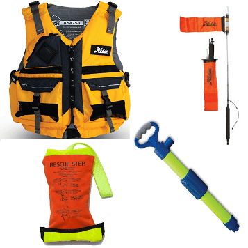 PFDs and Safety Equipent