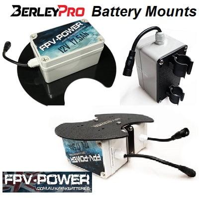 BerleyPro FPV Battery Mounts